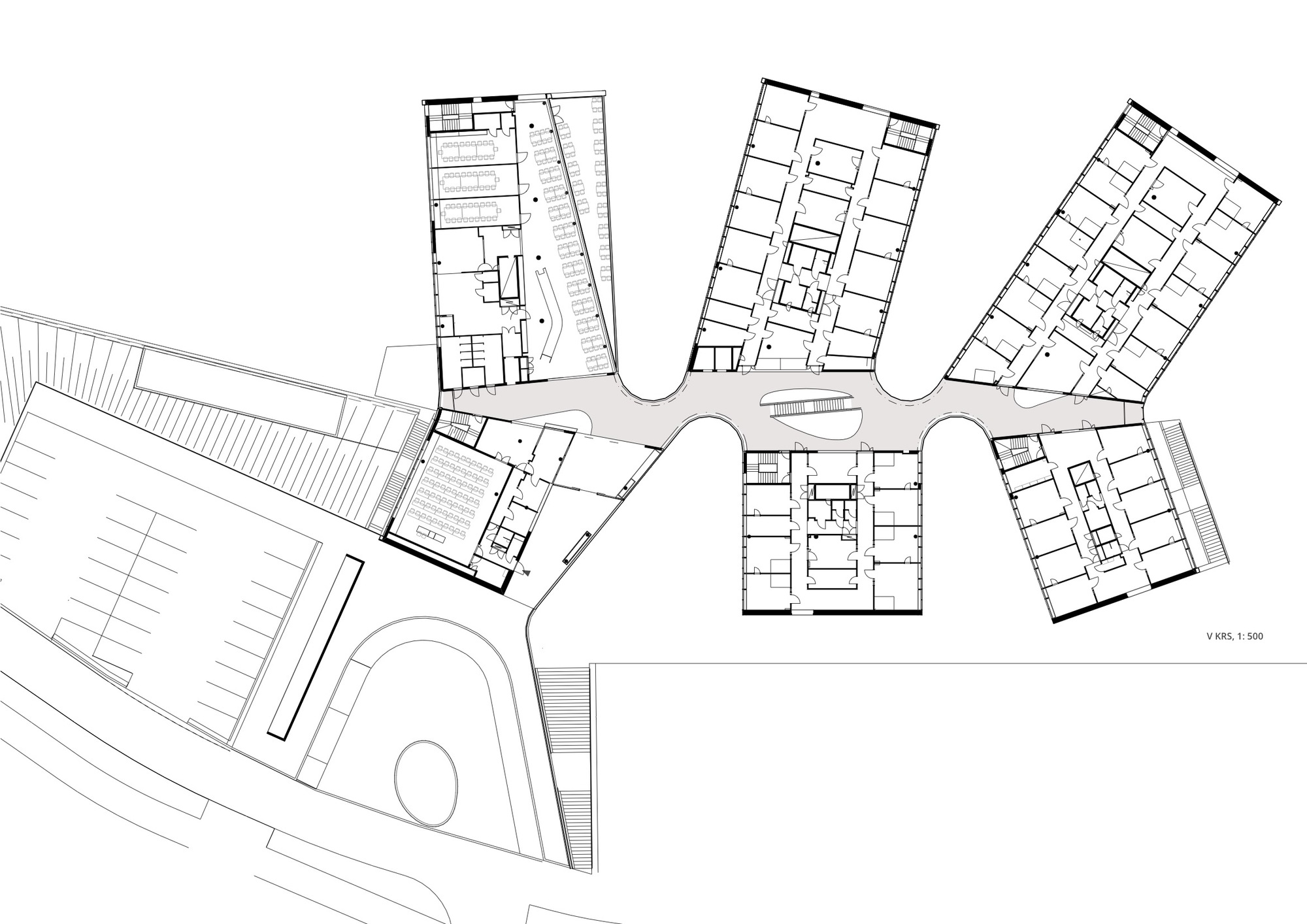 Clinic Floor Plan Gallery Of Tipotie Health Center Sigge Arkkitehdit Oy 13