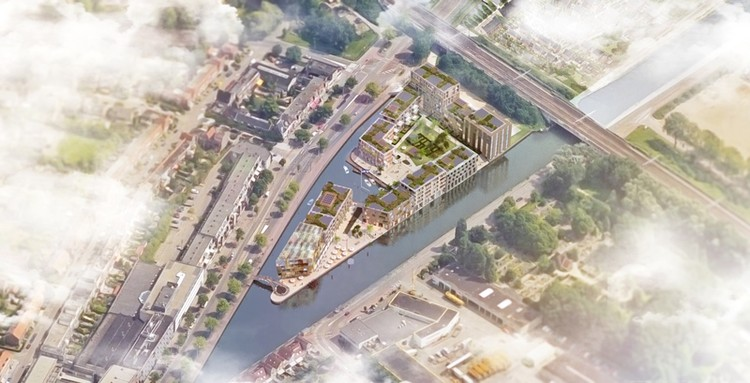 KCAP Wins Competition for Island Plan in Amsterdam, © KCAP