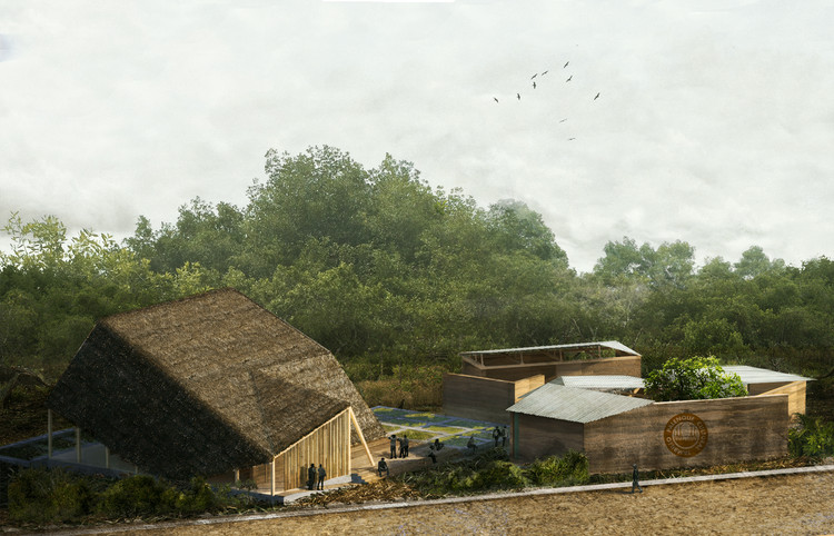 This Ecological Cultural Center is Designed to Celebrate the Tradition of Marimba Music, Courtesy of Caá Porá Arquitectos