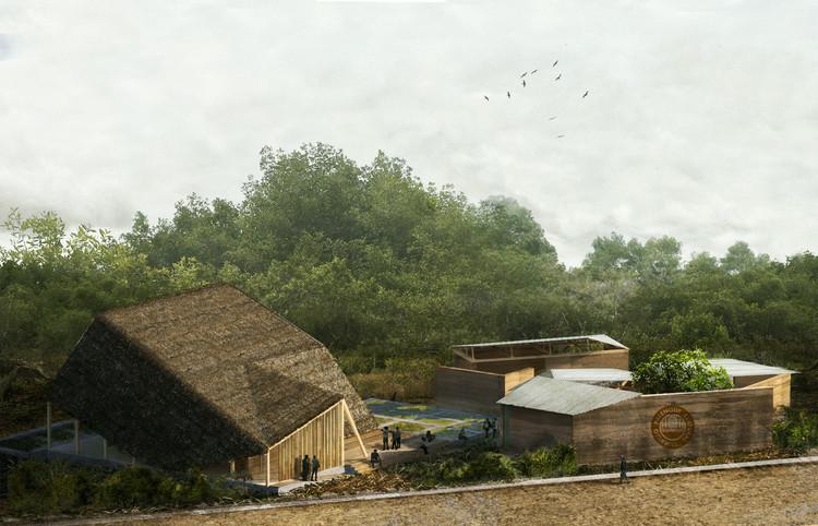 Centro cultural projetado para celebrar a música tradicional do Equador, Cortesia de Caá Porá Arquitectos
