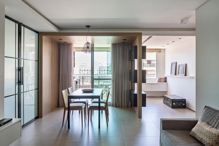 Apartamento Bentô / Semerene Arquitetura Interior, © Haruo Mikami