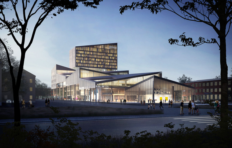 Team Of Young Architects Propose House Of Opportunity For Cultural Center In Skellefte