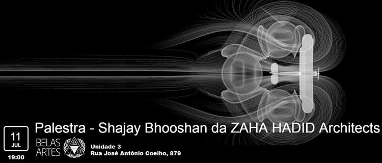 Belas Artes promove palestra com Shajay Bhooshan, do escritório Zaha Hadid Architects, Science museum installation.