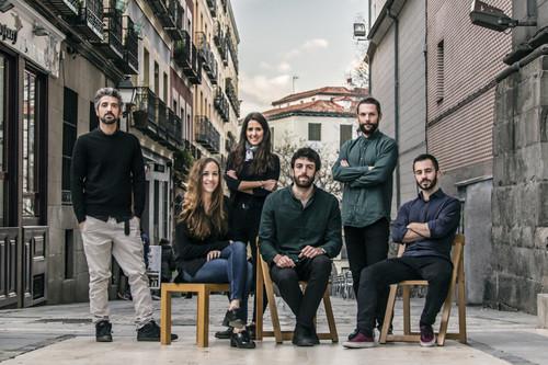 INCM MADRID 2016, De izquierda a derecha: Álvaro Gomis, Margarita Fernández, Raquel Ocón, Miguel Angel Maure, Javier Guerra, Hugo Cifre. Image Cortesía de EASA