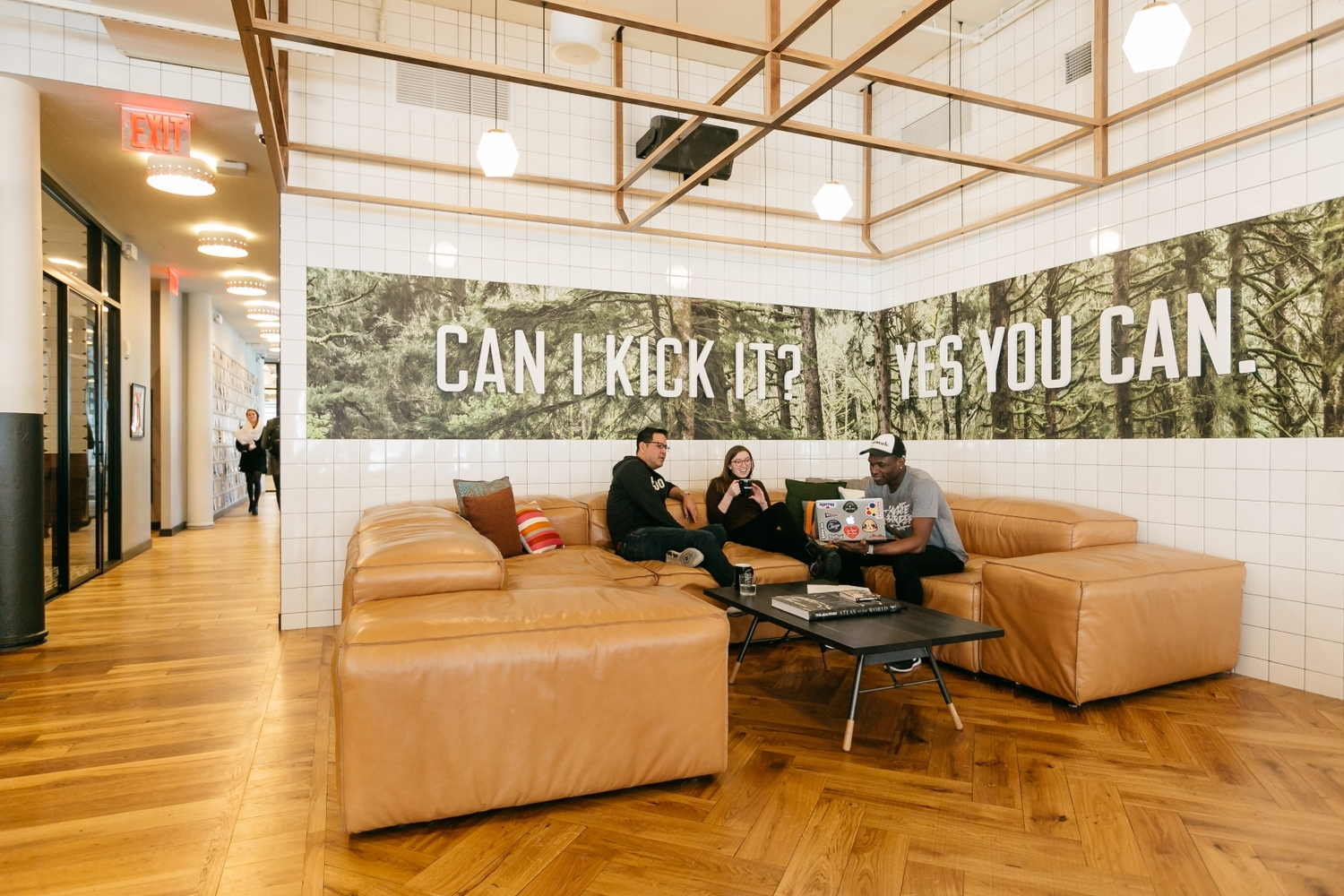 How WeWork Experiments On Itself To Advance The Field Of Office  Design,Tucked Away