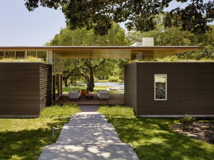 Sonoma Residence Turnbull Griffin Haesloop Architects