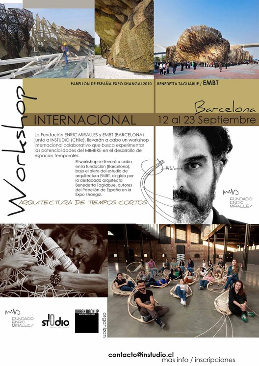 Workshop Internacional EMBT + Instudio