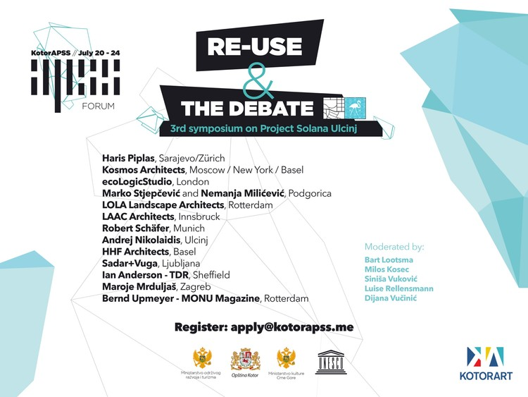KotorAPSS Forum 2016: RE-USE Symposium and THE DEBATE (Project Solana)