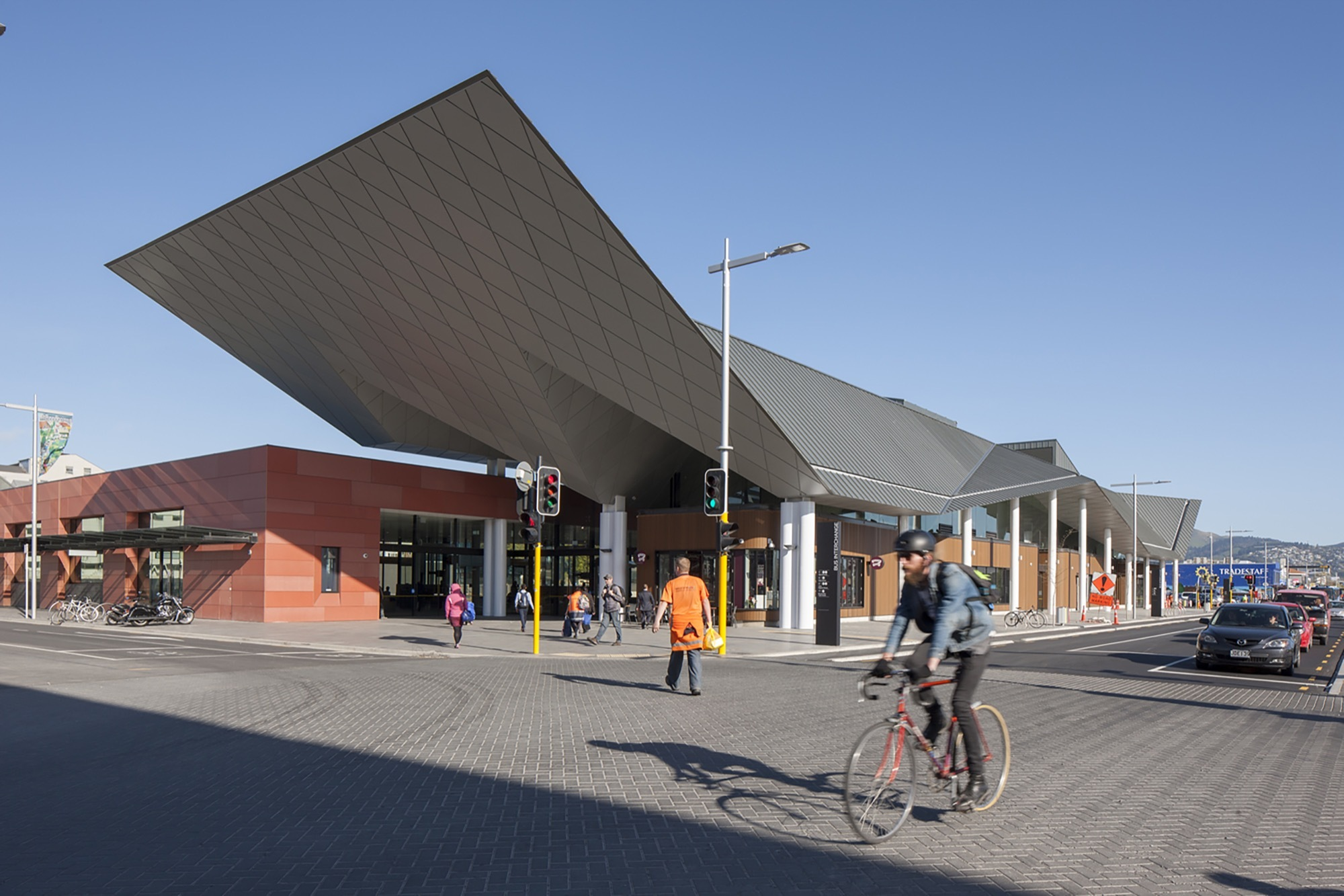 Christchurch Bus Interchange Architectus Archdaily