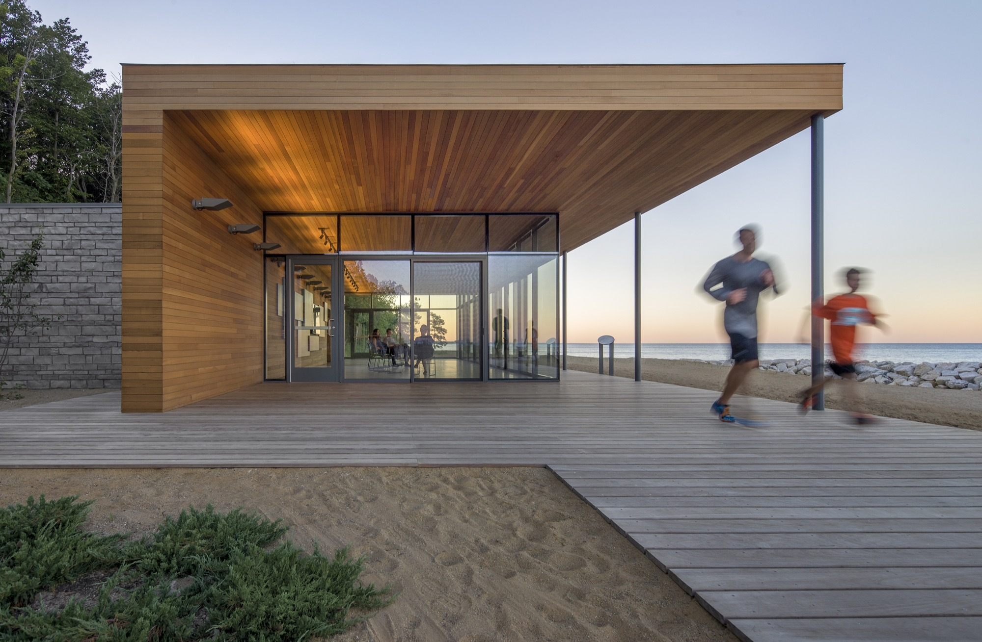 Rosewood park woodhouse tinucci architects archdaily for Wood house architecture