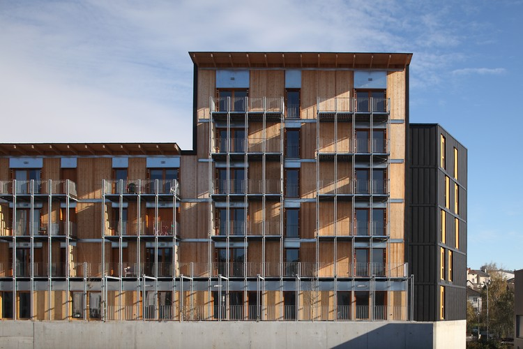 Le Vialenc Residential Block  / Atelier du Rouget Simon Teyssou & Associés, © Christophe Camus