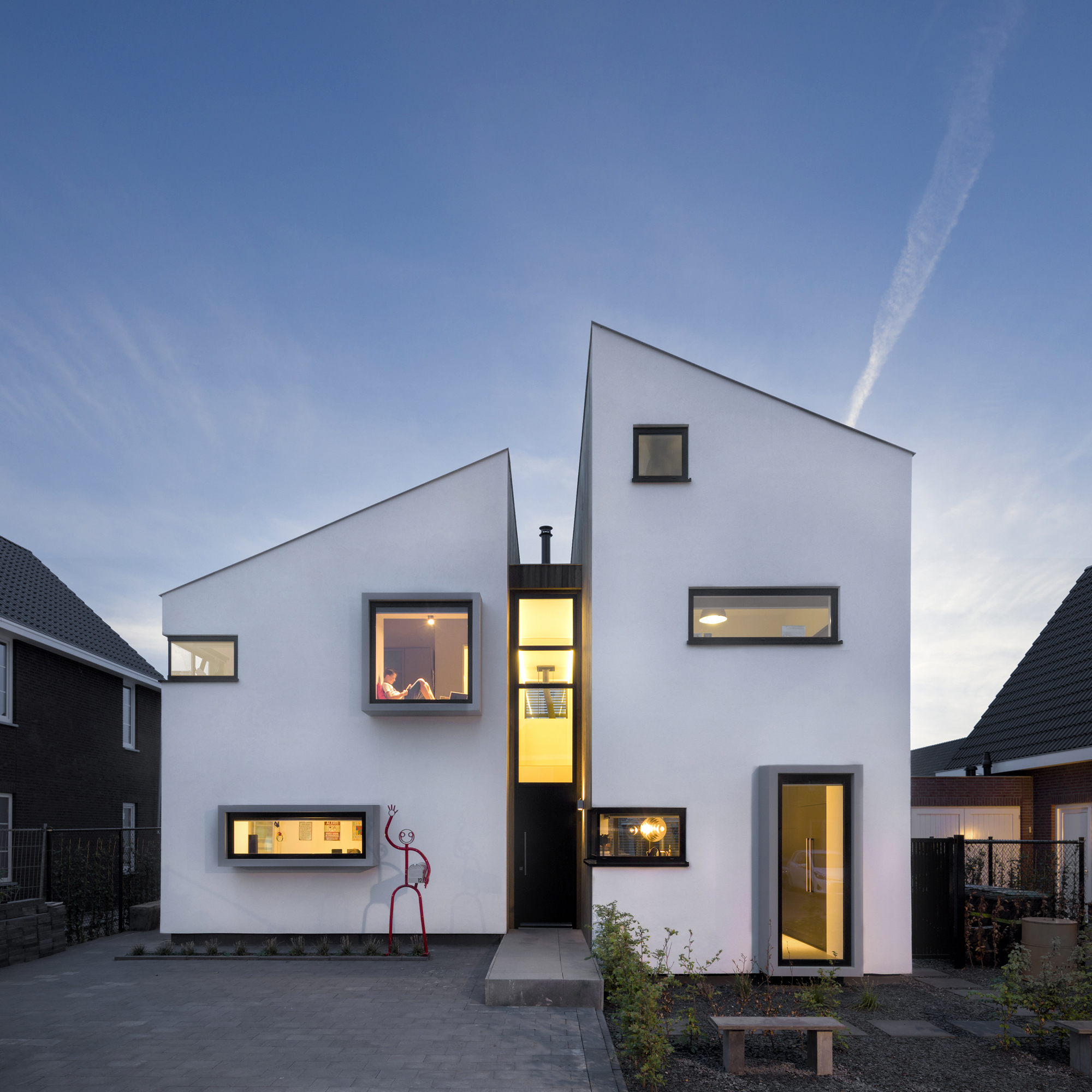 Casa daasdonklaan zone zuid architecten plataforma for Modern house definition