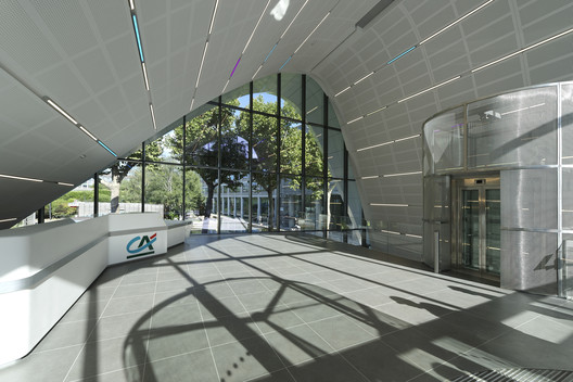 Crédit Agricole - Evergreen Campus Reception Pavilion / Arte Charpentier Architectes
