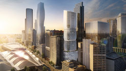 "Zaha Hadid Architects Releases New Images, Animation of ""Stacked Vase"" Tower for Melbourne"