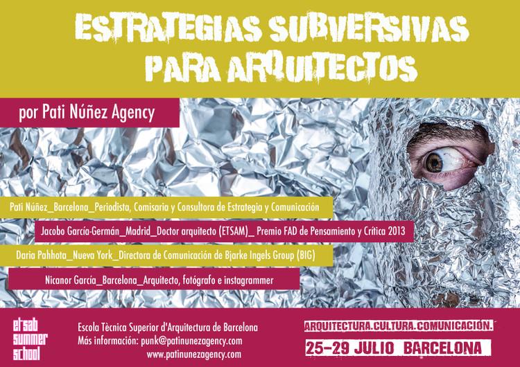 Workshop: Estrategias Subversivas para Arquitectos