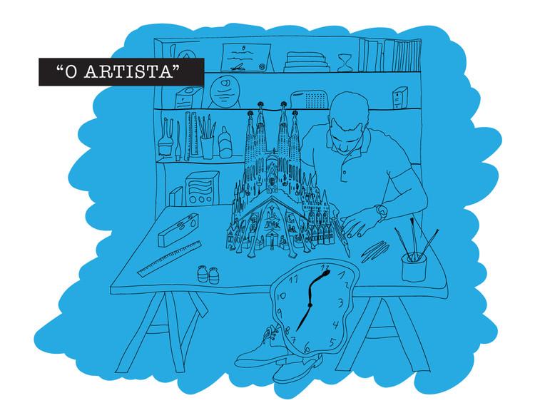21 tipos de arquiteto que podemos encontrar no escritório, © Leandro Fuenzalida