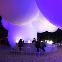 BIG-DESIGNED INFLATABLE PAVILION LIGHTS UP ROSKILDE FESTIVAL