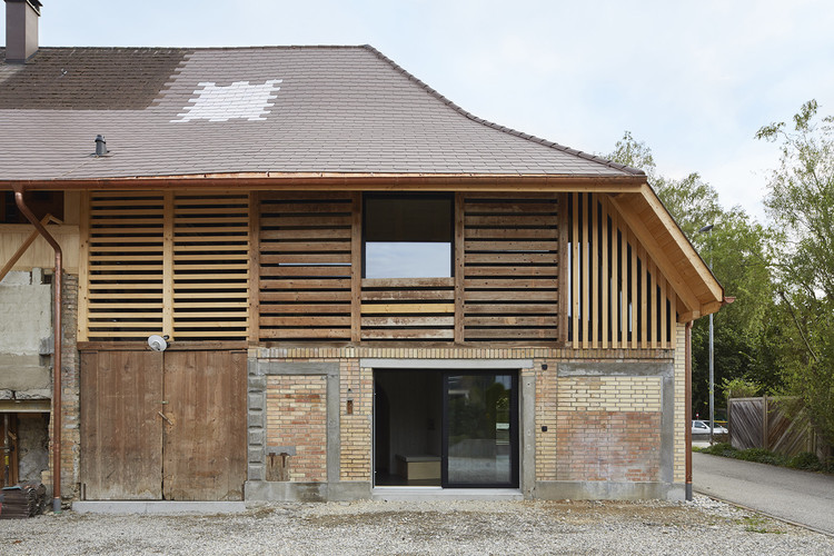 Barn Conversion / Freiluft Architektur, © David Aebi