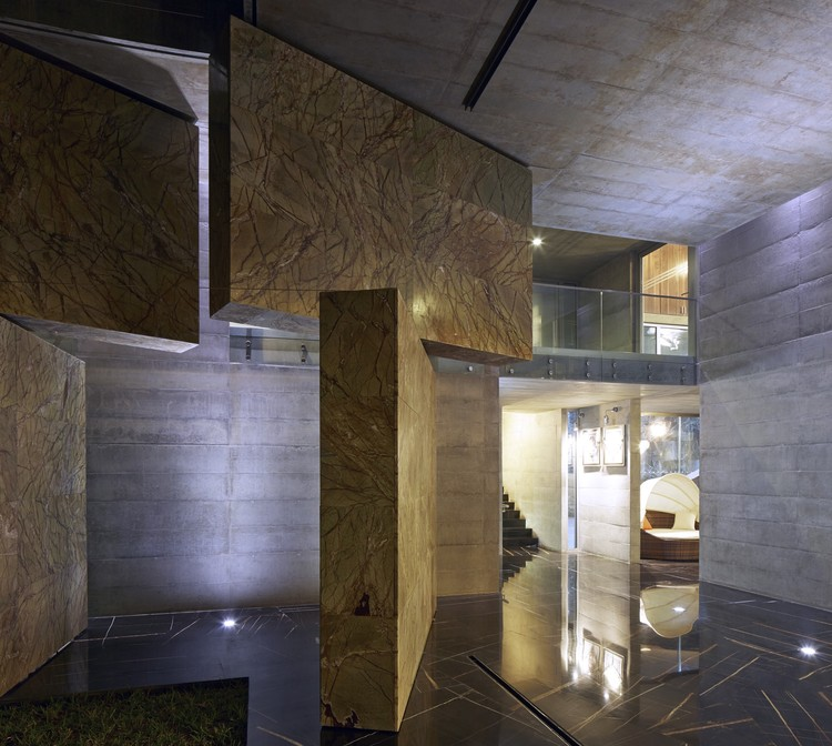 Moving Landscapes Matharoo Associates Archdaily - Curtain-door-by-matharoo-associates