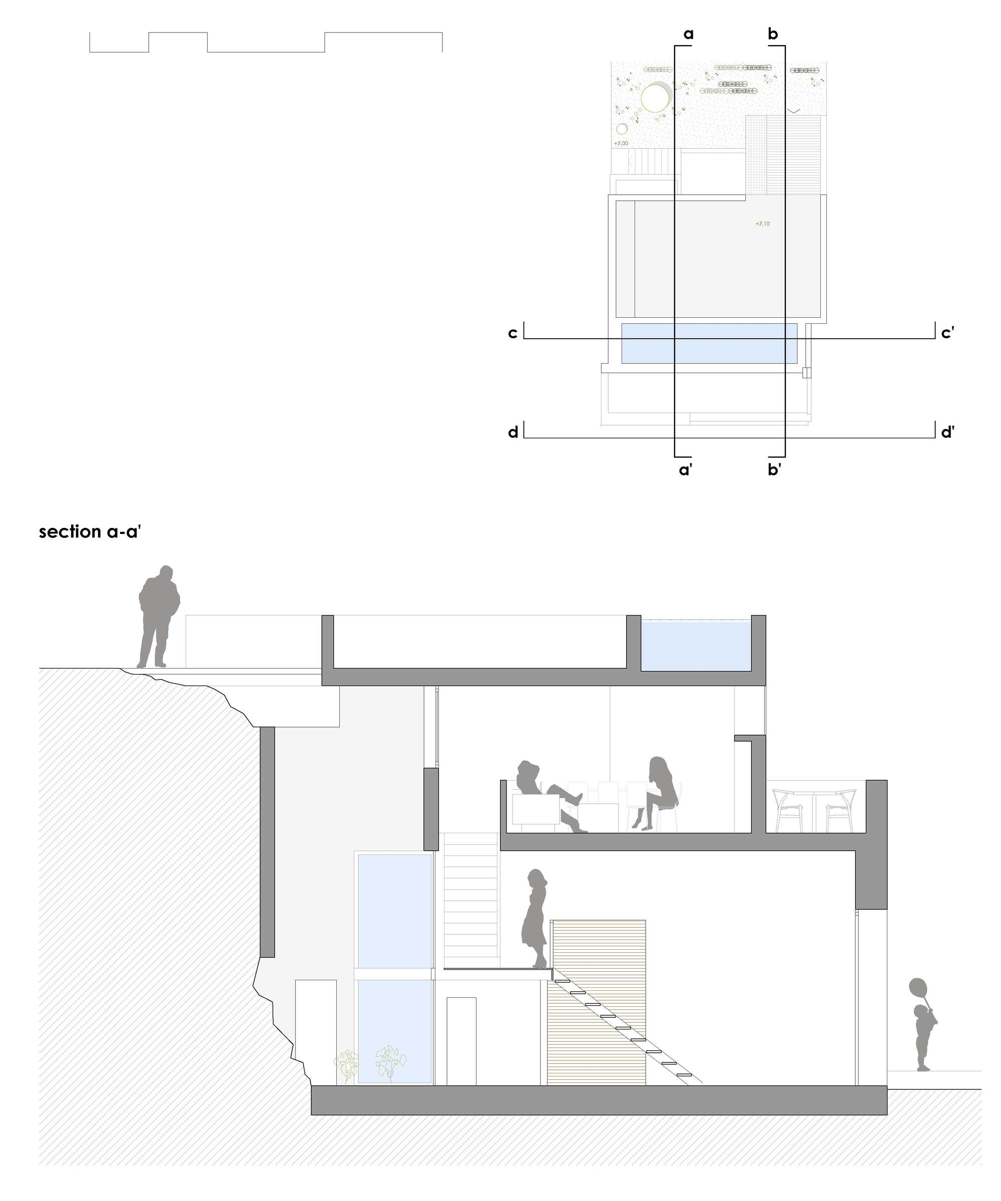 galer a de casa para un pintor dtr studio architects 21. Black Bedroom Furniture Sets. Home Design Ideas