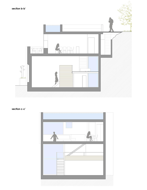 galer a de casa para un pintor dtr studio architects 20. Black Bedroom Furniture Sets. Home Design Ideas