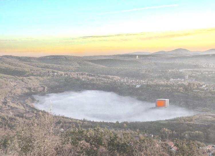 Nartarchitects diseñan dramático museo en una mina de carbón abandonada, Cortesía de Nartarchitects