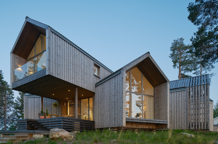 Residência Villa Sunnano / Murman Arkitekter, © Åke E:son Lindman