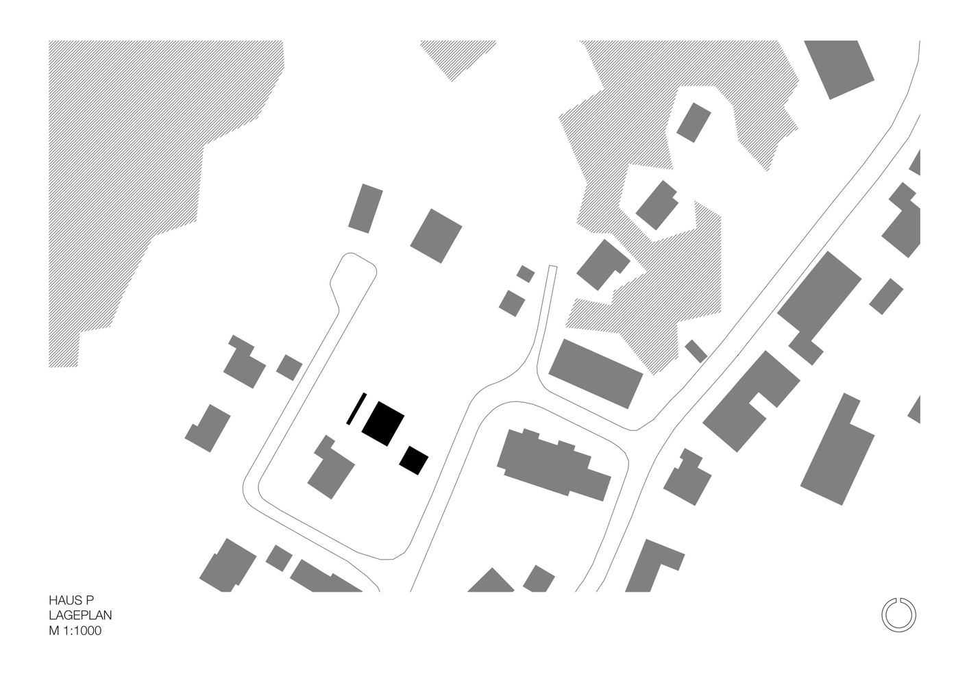 House P,Site Plan