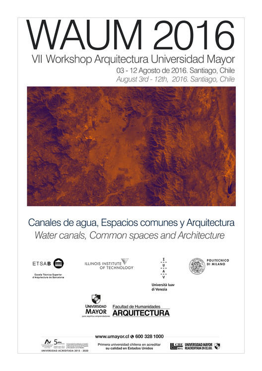 WAUM 2016, VII workshop internacional de Arquitectura UM