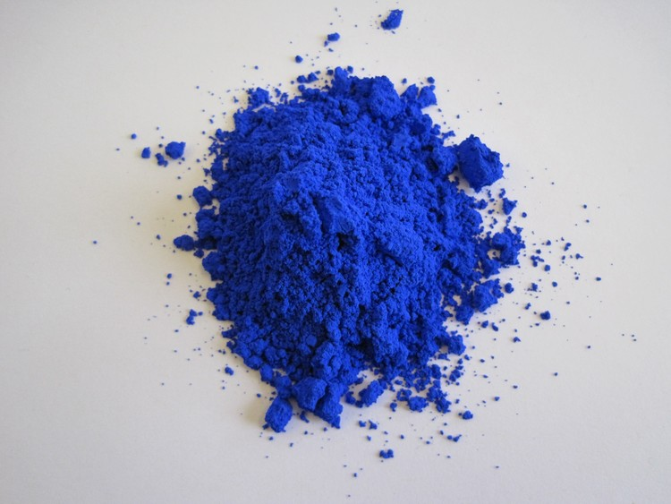 OSU Chemists Discover New Blue Pigment that Could Help Keep Buildings Cool, Mas Subramanian. Image Courtesy of Oregon State University