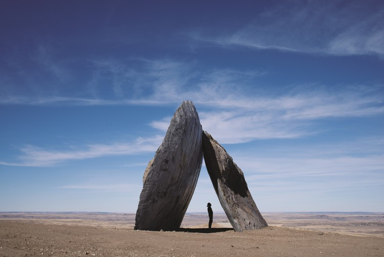 Tippet Rise Art Center Combines Architecture, Art, Music and Mountains in Montana, Inverted Portal / Ensamble Studio. Image © Andre Costantini