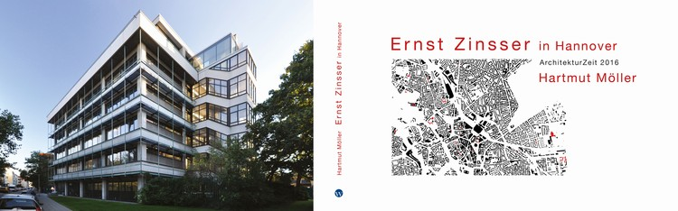 Exhibition: Ernst Zinsser in Hannover - ArchitekturZeit 2016, Book cover