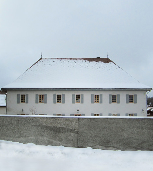 Rehabilitation and Extension of the Thorens-Glières Presbytery  / Gbau, Courtesy of Gbau