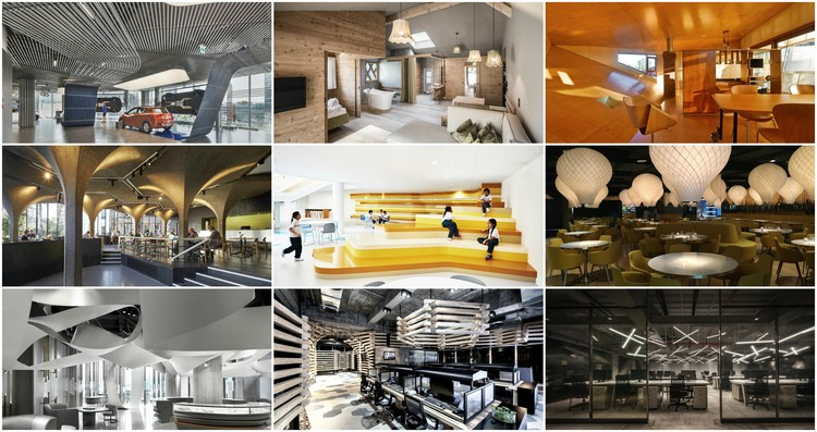 62 proyectos finalistas del INSIDE World Interior of the Year 2016