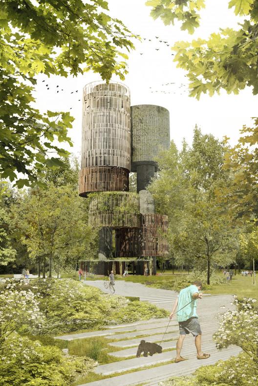 amann-canovas-maruri + Adelino Magalhaes diseñarán plataforma de observación en Luxemburgo, Cortesía de amann-canovas-maruri + Adelino Magalhaes