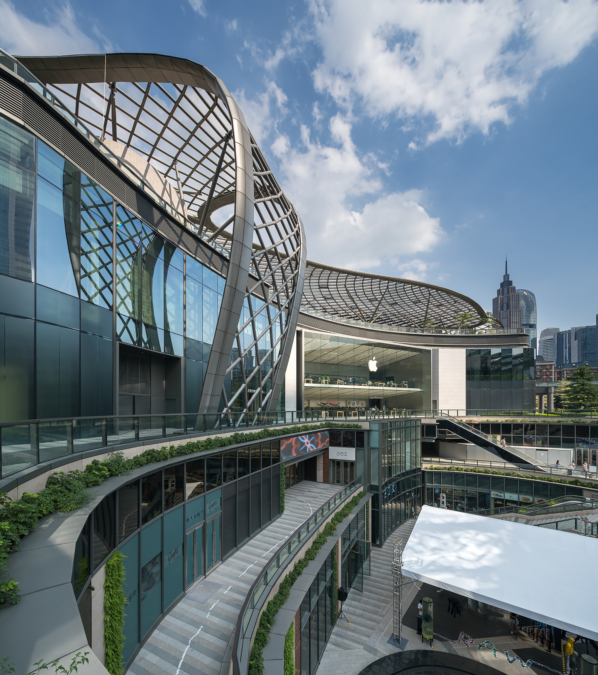 Gallery Of Parc Central Benoy 12