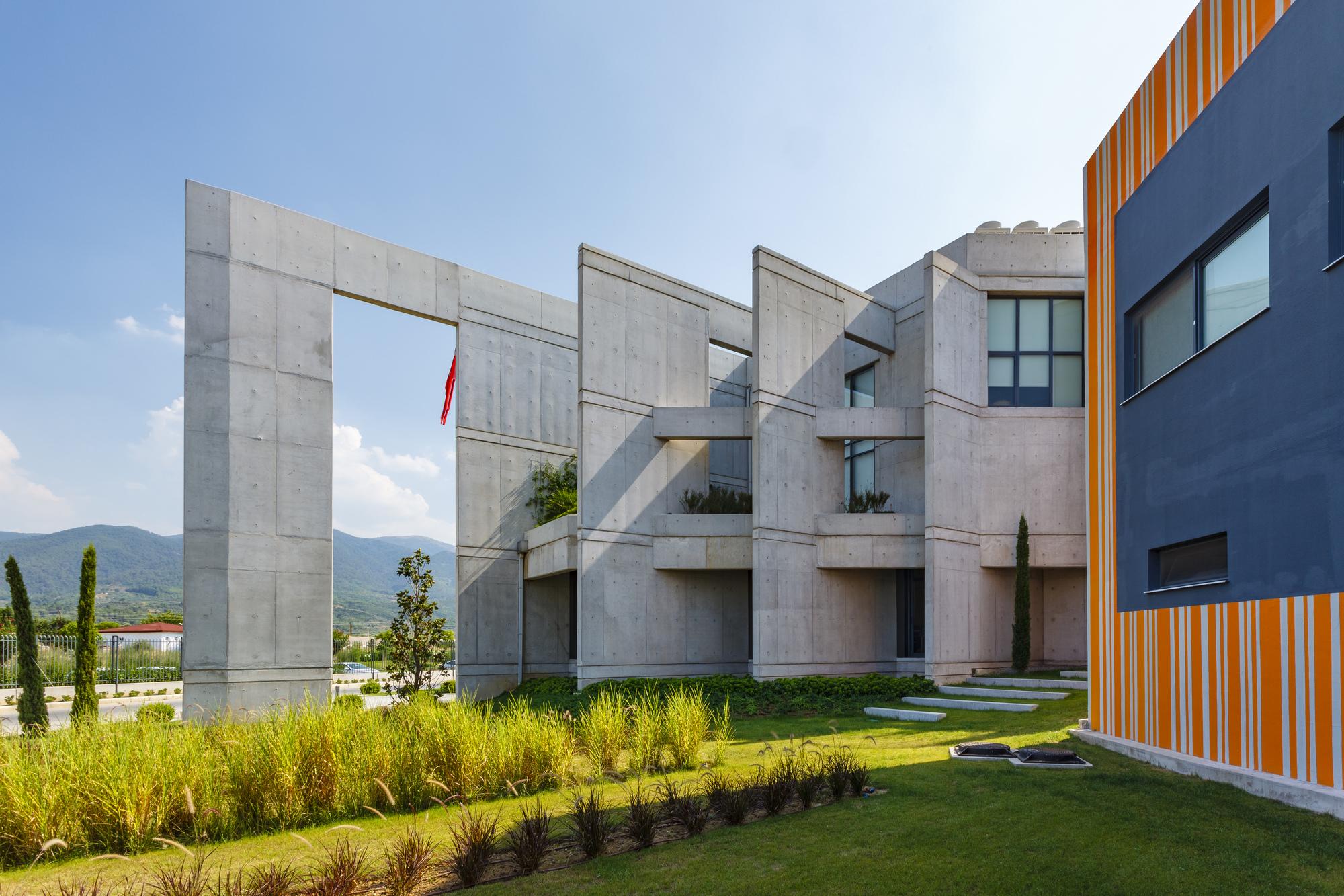 Eurogida Factory Administrative Building 214 Ney