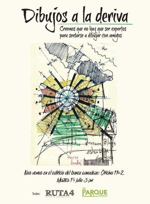 Dibujos a la deriva / Pereira, Ruta4 Arquitectura - Reparqueando