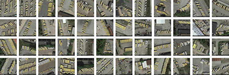 Terrapattern: um buscador de padrões urbanos em imagens de satélite, © studioforcreativeinquiry, via Flickr. Licença CC BY-SA 2.0