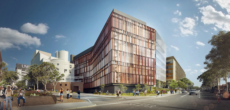 Woods Bagot Designs Butterfly-Inspired Biological Sciences Building at the University of New South Wales, Courtesy of Woods Bagot