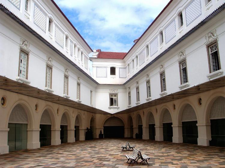 ArqGuia Rio: Guia online da arquitetura carioca, Museu Histórico Nacional. Image © Cleber Quadros, via ArqGuia Rio