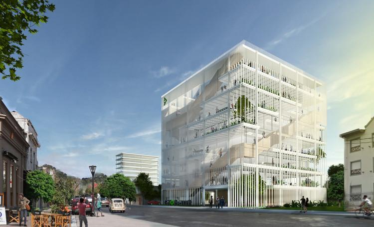 Primer Lugar Concurso Internacional Globant Iconic Building / Buenos Aires, Argentina, Cortesía de Alric Galindez Arquitectos, F9studio, Marantz Arquitectura
