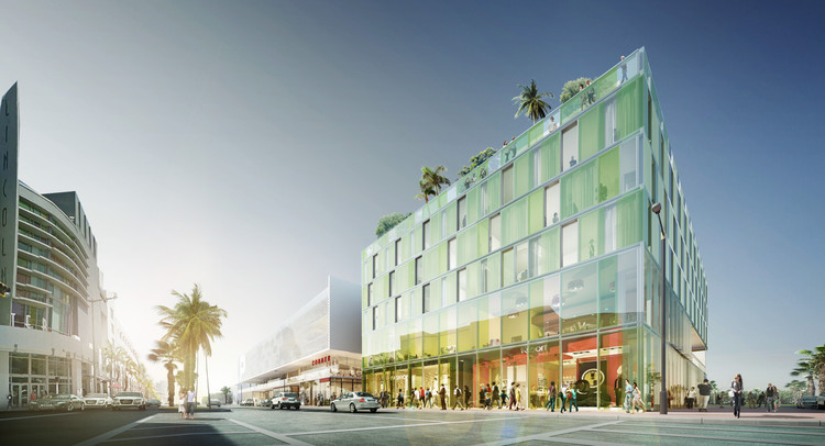 Perkins+Will Designs Miami Beach 'Glass Prism', © Perkins+Will