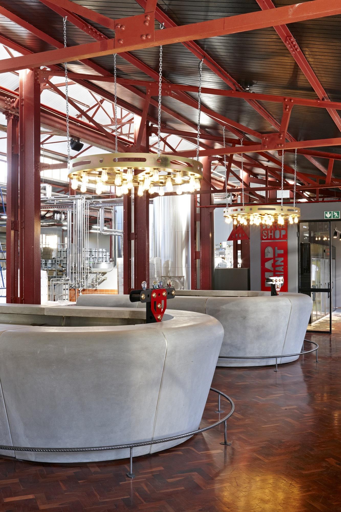 Gallery of Mad Giant Beer Interior / Haldane Martin - 5