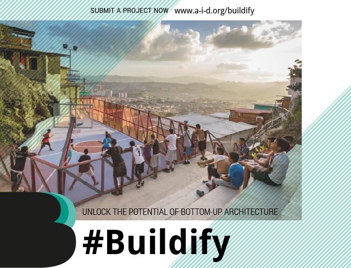 Convocatoria Buildify, Barrio Canaima – Los Frailes Políticas del Territorio Catia, Caracas, Venezuela. Cortesía de colectivo PICO http://picocolectivo.org.ve/sistema-de-equipamientos-comunales-1100/