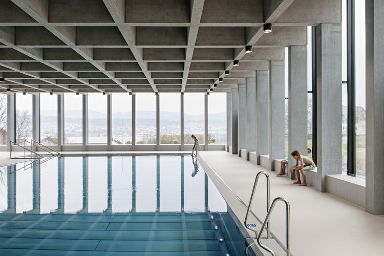 Swimming Pool Allmendli Illiz Architektur Archdaily