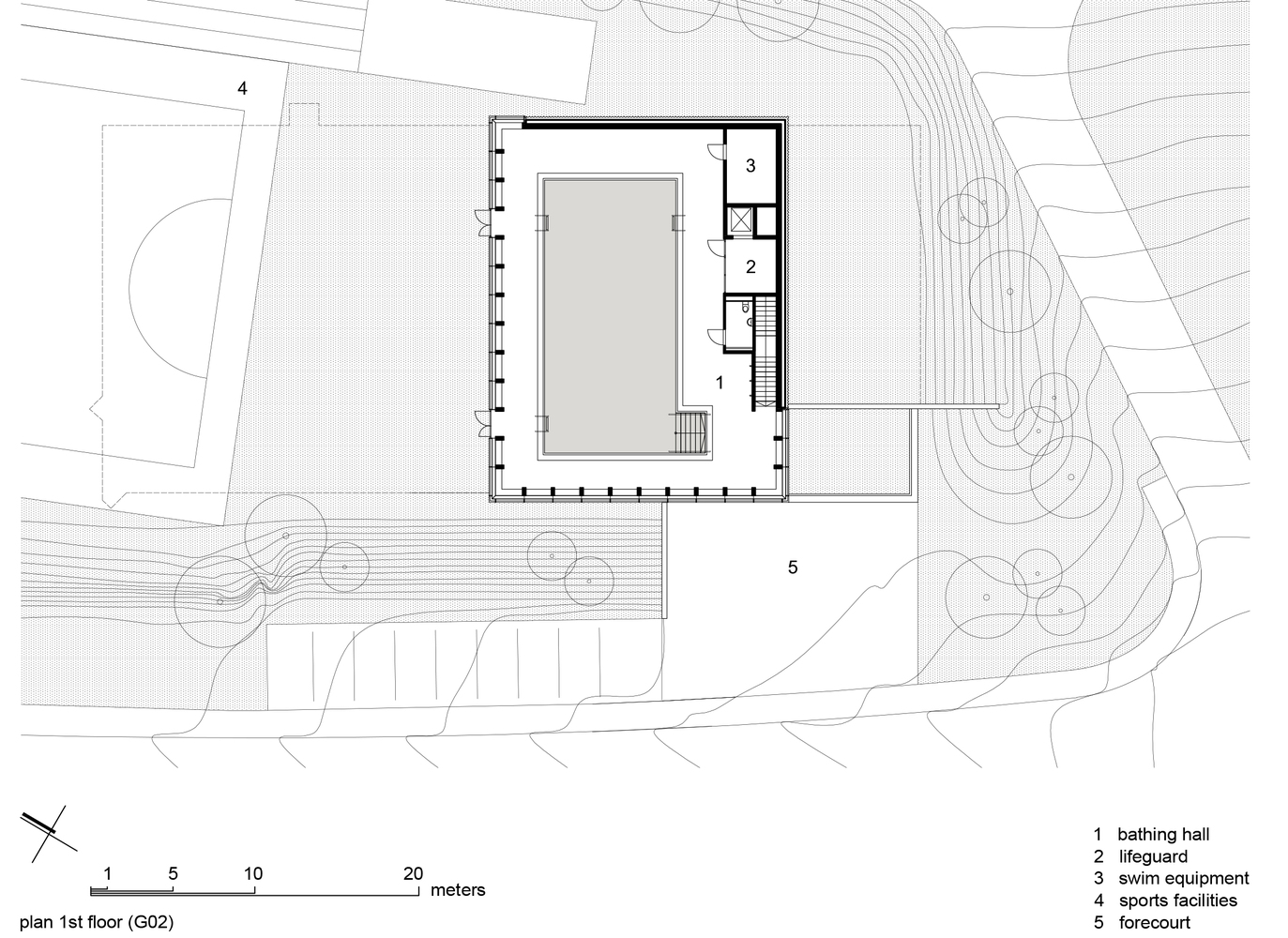Gallery Of Swimming Pool Allmendli Illiz Architektur