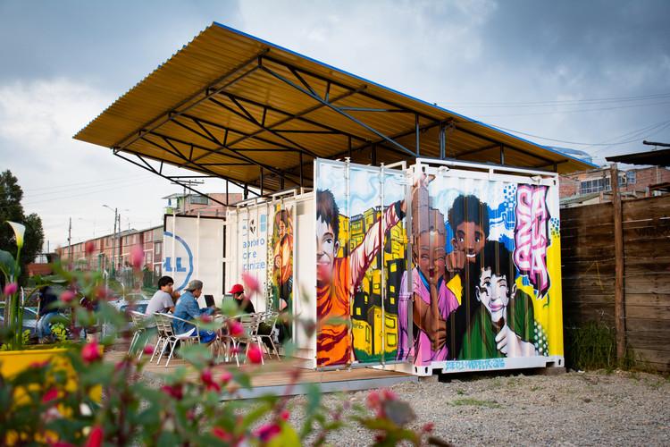 Zubabox, el container que ofrecerá nuevas oportunidades en barrios marginales de Bogotá , © Michael Squire and Patners