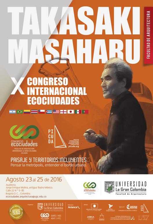 X Congreso Internacional Ecociudades 2016. Paisaje y Territorios Incluyentes, Diseño Juan Carlos Toro - Facultad de Arquitectura UGC