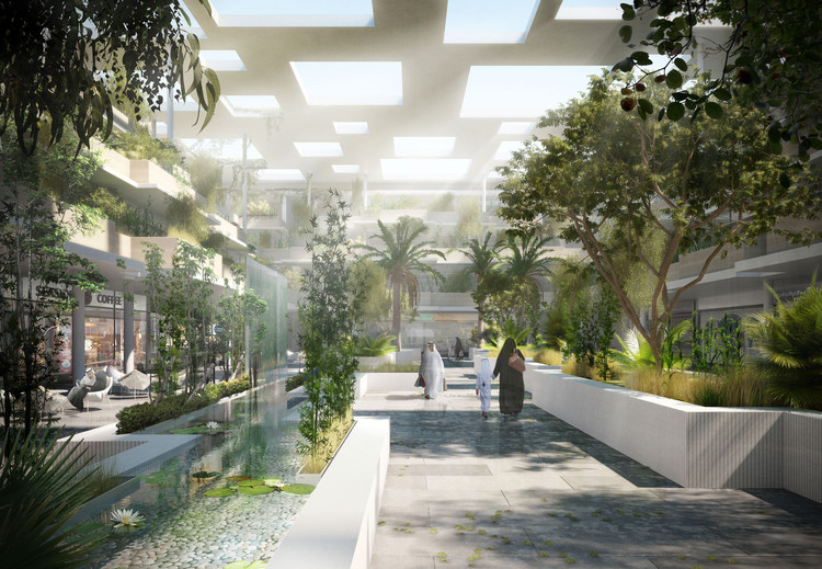 Nabil gholam architects propose unusual art oasis in for Design hotel 6f